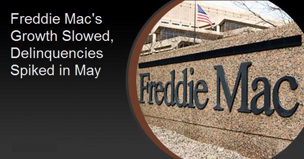 Freddie Mac's Growth Slowed, Delinquencies Spiked in May