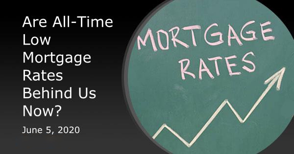 All Time Low Mortgage Rates
