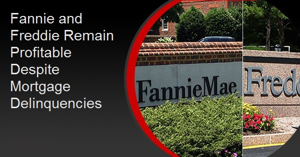 Fannie and Freddie Remain Profitable Despite Mortgage Delinquencies
