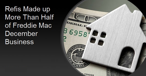 Refis Made up More Than Half of Freddie Mac December Business