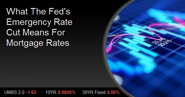 What The Fed's Emergency Rate Cut Means For Mortgage Rates