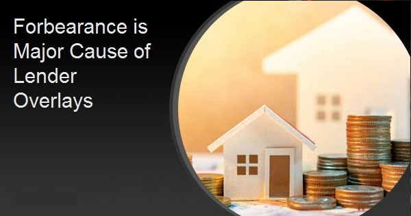 Forbearance is Major Cause of Lender Overlays